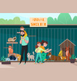 family animal shelter composition