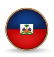 Haiti Seal vector image vector image