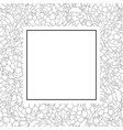 marigold outline banner card vector image vector image