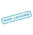 Now Leasing Rubber Stamp vector image vector image