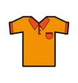 polo shirt icon image vector image vector image