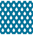 Blue White Water Drops Background vector image vector image
