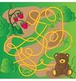 Cartoon of Education Maze or vector image vector image