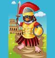gladiator bird vector image