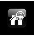 house thief single vector image vector image