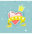 love princess vector image vector image