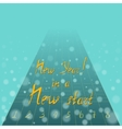 New Year Motto vector image vector image