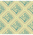 Seamless pattern with glyphs of the Maya periods vector image vector image
