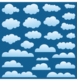 Set a cloud vector | Price: 1 Credit (USD $1)