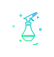 water shower icon design vector image