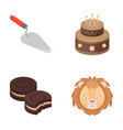 building cooking and other web icon in cartoon vector image vector image