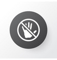 caution icon symbol premium quality isolated stop vector image vector image