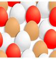 egg back pattern vector image vector image