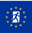 exit from european union vector image