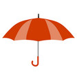 red umbrella icon yellow umbrella icon isolated vector image vector image