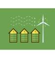 wind energy vector image vector image