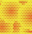 abstract dotted halftone background simple vector image vector image