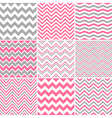Chevron Seamless Patterns vector image