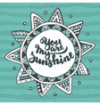 Handwritten quote You are my sunshine on ethnic vector image vector image