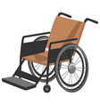 invalid carriage wheelchair for disabled people vector image
