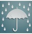 RAIN UMBRELLA vector image