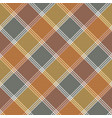 retro fabric texture check seamless pattern vector image vector image