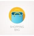 shopping bag Icon Flat style design vector image