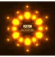 Abstract glowing background with light spots vector image