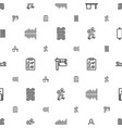 board icons pattern seamless white background vector image vector image