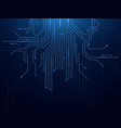 circuit board abstract futuristic technology vector image