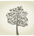 Tree food vector image vector image