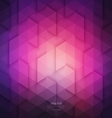 Abstract Geometric Technological Purple Background vector image vector image