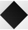 abstract monochrome diagonal square pattern vector image vector image