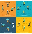 Disabled Sports Set vector image vector image