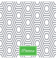 hex stripped grid seamless pattern vector image vector image