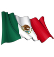 Mexico Flag vector image