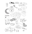 objects on a dream vector image vector image