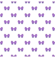 Pair of mittens pattern cartoon style vector image