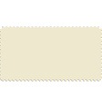 Post stamp vector image vector image
