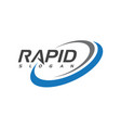 rapid design vector image vector image