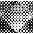 abstract geometrical black and white square vector image vector image