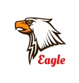 Eagle emblem Hawk graphic symbol vector image