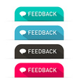 Feedback Icons Set vector image vector image