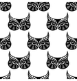 Owl bird seamless pattern vector image vector image
