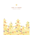 party decorations bunting christmas tree vector image vector image