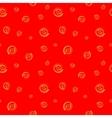Polka dot chaotic seamless pattern 1208 vector image