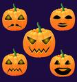 pumpkin2 vector image vector image