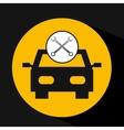 concept repair car tools icons vector image
