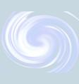 bright rainbow swirl background blue rays vector image vector image