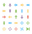 bundle of arrows colored vector image